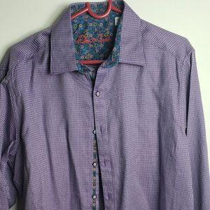 Mens designer dress shirt